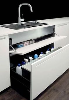 | P | Boffi under-sink storage + recycling center by pauline