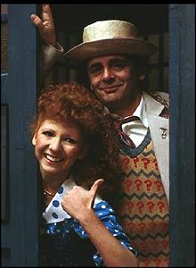 Bonnie Langford played Mel, who travelled with both Colin Baker and Sylvester McCoy