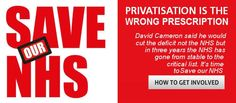 Save our NHS - join the Unite campaign