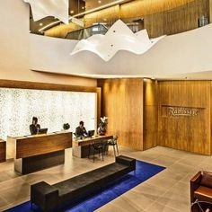 Lobby Hotel Radisson Faria Lima