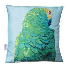 Sultry Parrot Cushion W48 x D48 cm - Chloe croft