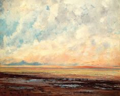 Gustave Courbet - Seascape