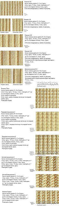 Резинки спицами | ДОМОСЕДКА