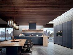 31 Modern Kitchen Concepts Every House Prepare Demands to See Black Kitchens, Luxury Kitchens, Home Kitchens, Modern Kitchens, Luxury Kitchen Design, Interior Design Kitchen, Modern Outdoor Kitchen, Rustic Kitchen Cabinets, Küchen Design