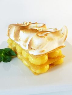 citron meringue--almost too pretty to eat...