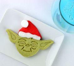 Star Wars Santa Yoda Cookies