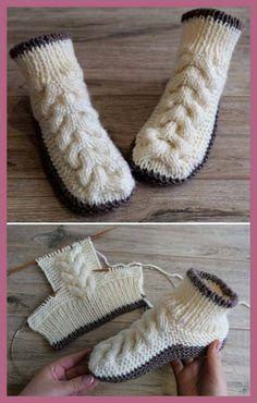 Crochet blanket patterns free 840836192914914963 - Wolle Kabelschuhe – Free Knitting Pattern Wolle Kabelschuhe – Free Knitting Pattern knitting tutorial… Source by Knitting Patterns Free, Knit Patterns, Free Knitting, Baby Knitting, Start Knitting, Knitting Increase, Blanket Patterns, Knit Slippers Free Pattern, Knitted Slippers