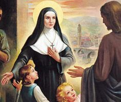 Saint Benedicta Cambiagio Frassinello, Foundress Congregation of the Benedictine Sisters of Providence, pray for us.  Feast day March 21.