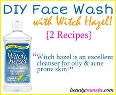 Have you ever thought of making a DIY face wash with witch hazel as the main ingredient? You might want to try it! Witch hazel is an ingredient many people have in their medicine cabinets. It soothes bug bites, relieves sunburn, treats cuts and is a good shaving aid. In the beauty department, witch hazel …
