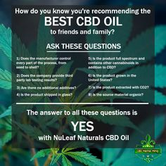 How do you know you're recommending the best CBD oil to friendy and family. Health Matters, Hemp, Did You Know, Health And Wellness, Good Things, Oil, This Or That Questions, Cannabis, Organic