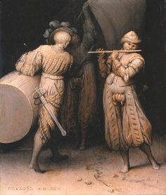 Trois soldats - Pieter Bruegel l'Ancien