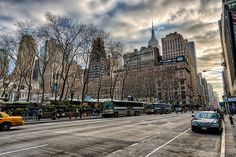 All sizes | Moody Winter Street | Flickr - Photo Sharing!