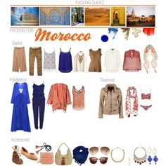PACKING FOR: Morocco