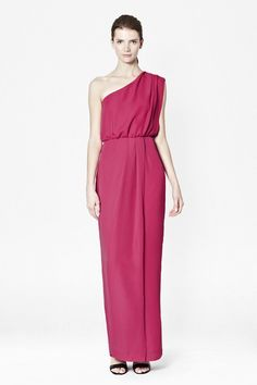 Pin for Later: Beautiful Bridesmaid Dresses That Won't Break the Bank  French Connection Mandy one shouldered maxi (£43, originally £85)