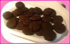 No gluten! Yes vegan!: Biscottini alla carruba ed uvetta