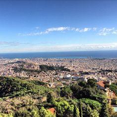 Views from Tibidabo - Barcelona