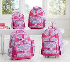 Mackenzie Lavender Rainbow Backpack #pbkids