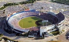 Arlington Stadium - Arlington, TX The old Rangers ballpark. George Strait had a concert at the stadium after the ball game. Good old days!