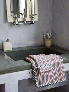 Nice taps and basin
