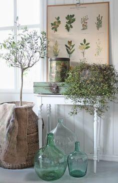 VIBEKE DESIGN: Rustikk i grønt & skjønt