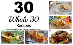 Whole 30 collage