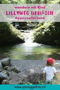 Familienwanderung: Lillyweg Urnäsch - Ausflugsziel im Appenzellerland Manicure At Home, Diy Manicure, Switzerland, To Go, Holiday, Nature, Summer, Kids, Travel
