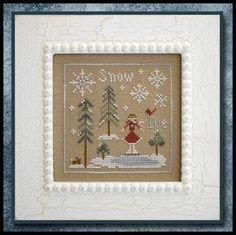 Little House Needleworks ~ Snow & Ice