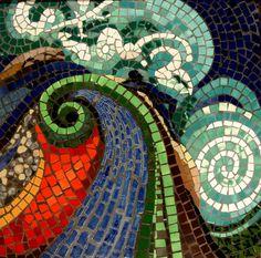 Transformando el Vidrio reciclado en Arte