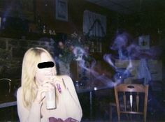 Ghost Pictures: Smoky Ghost Picture