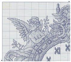 Cross Stitch Clock - 2 of 4 - Gallery.ru / Фото #118 - Отшитые схемы 1 - livadika