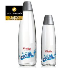 Bronze Pentaward 2010 Beverages Water Brand: Vitalis Entrant: Design Bridge Ltd Country: UK www.designbridge.com