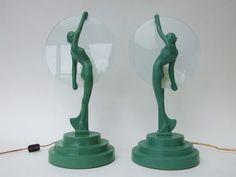Frankart lamps