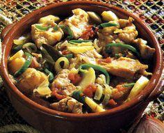 Caldeirada - Gastronomia de Portugal - algarve