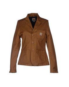 ¡Cómpralo ya!. CARHARTT Americana mujer. CARHARTT Americana mujer , americana, americana, blazer, americanas, blezer, frock-coat, jackett, blazers, vestedecostume, americana, blazers. Americana  de mujer color marrón claro de Carhartt.