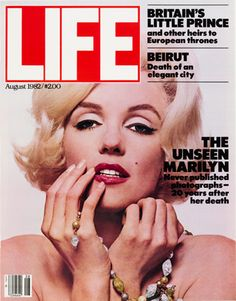 "Marilyn, Marilyn... plus, note the ref to William as ""Britain's Little Prince""!"