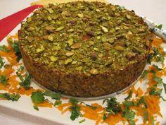 Pistachio & Sweet Pea Torte