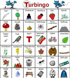 Turbingo - fun activity for spring Spring Activities, Activities For Kids, Bingo, Maths For Beginners, Teaching Kids, Kids Learning, Outdoor School, Forest School, Preschool Printables