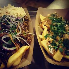 Poutine. french fries. fritten. for fries lovers. #frittenwerk. streetfood. germany. imbiss restaurant