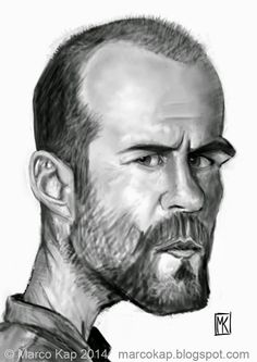 Caricatures by Marco Kap : Jason Statham