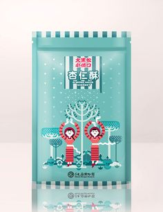 """Salico Foods is a well-known brand in the Taiwan wedding cake industry.     """"The design uses distinctive colors to emphasize the flavor of the snack and an illustrated scenes of picking fresh crops which also make people feel playful."""""""