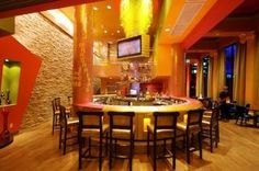 La Salsa Cantina.  Caesar's Palace, The Forum Shops, Las Vegas, NV.  Designed by Pasquale Design Studio LLC, San DIego