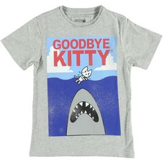 T-Shirt Goodbye Kitty | Relaunch | Daan en Lotje http://daanenlotje.com/kids/jongens/t-shirt-goodbye-kitty-001270