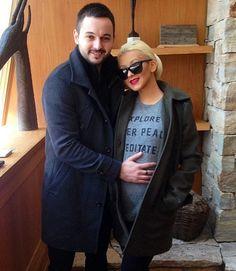 Christina Aguilera and Matthew Rutler are parents. (Instagram)