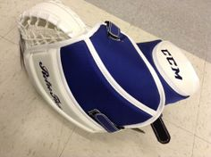 CCM Retro Flex Pro trapper. Color: Bernier  Available at http://www.prohockeylife.com