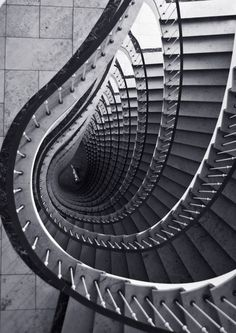 Items similar to Abstract Architecture Photograph - Black and White Staircase Photo - Print on Etsy Black Architecture, Concept Architecture, Amazing Architecture, Architecture Details, Shape Photography, Abstract Photography, Artistic Photography, White Staircase, White Building