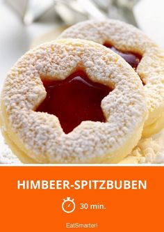 Himbeer-Spitzbuben - smarter - Zeit: 30 Min. | eatsmarter.de