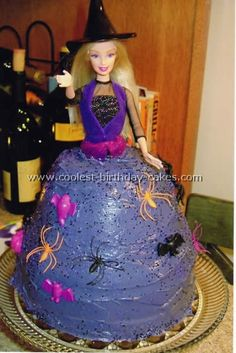 Witch Cake Photo
