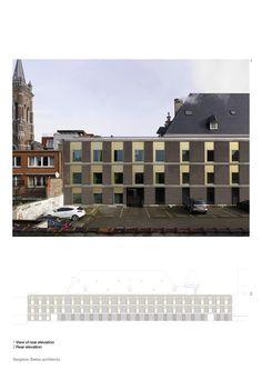 Sergison Bates architects, Blankenberge Public Library, Belgium Building Exterior, Facades, Bricks, Belgium, Architects, Public, Contemporary, Inspiration, Biblical Inspiration