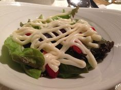 This was a #fail - salad with strawberries and smothered in mayonnaise   Living in Sin: Wah Lok @ Carlton Hotel Singapore - Cantonese food for dinner
