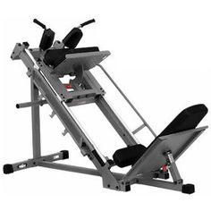 Bayou Fitness E-Series Leg Press / Hack Squat, (leg press, calf, health, leg press machine, bodysolid, calf press, hack squat, legs machine, mini leg press, body solid)